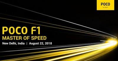 Xiaomi POCOPHONE F1 dengan Snapdragon 845 Diluncurkan di India pada 22 Agustus