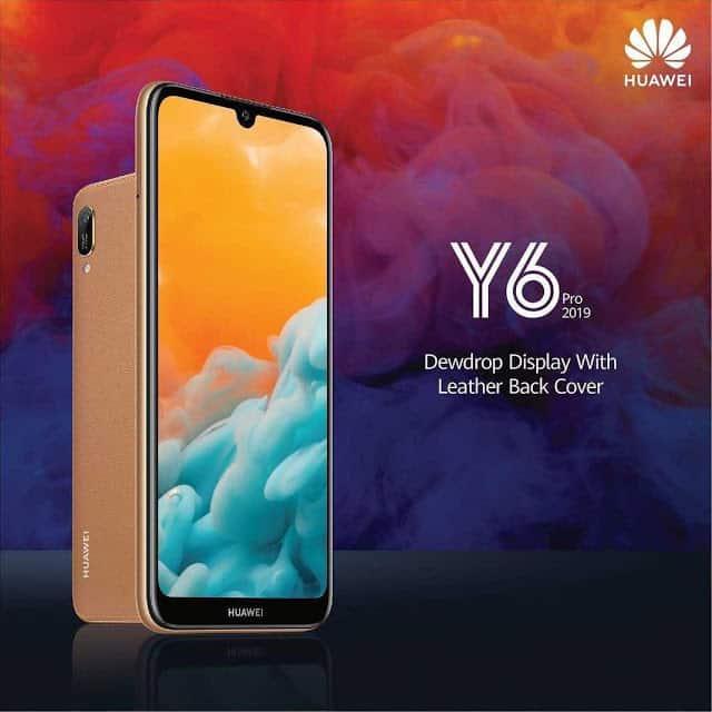 Huawei Y6 Pro 2019 Hadir dengan Lapisan Belakang kulit Yang Menarik