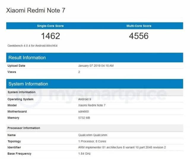 Redmi Note 7 Akan Hadir dengan Snapdragon 660 dan Kamera 48MP?