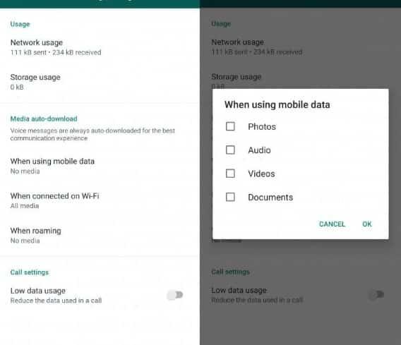 Cara Stop Download Otomatis Foto dan Video di WhatsApp