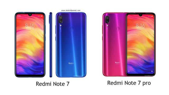 Perbandingan Spesifikasi Redmi Note 7 dan Redmi Note 7 Pro, Bedanya Apa?