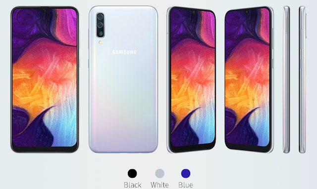 Samsung Galaxy A50, Spesifikasi, Harga dan Ketersediaan