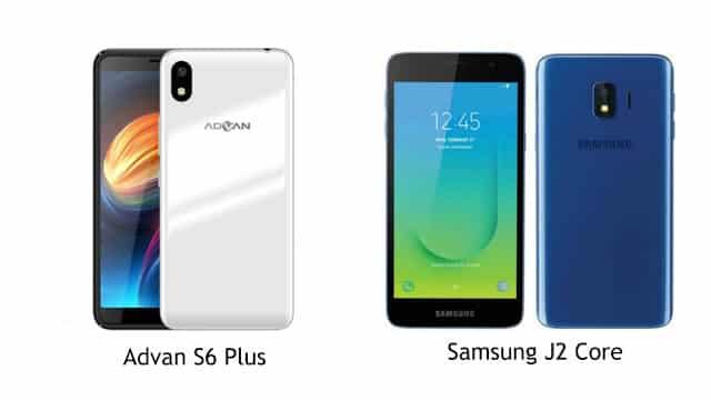Perbandingan Spesifikasi Advan S6 Plus vs Samsung J2 core, Pilih Mana?