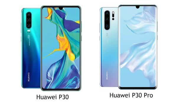 Spesifikasi dan Perbedaan Huawei P30 dan P30 Pro, Harga dan Ketersediaan
