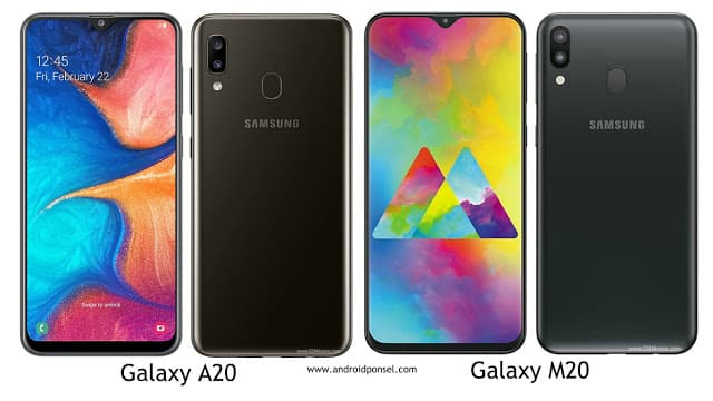 Perbandingan Spesifikasi Samsung Galaxy A20 dan Galaxy M20, Lengkap!