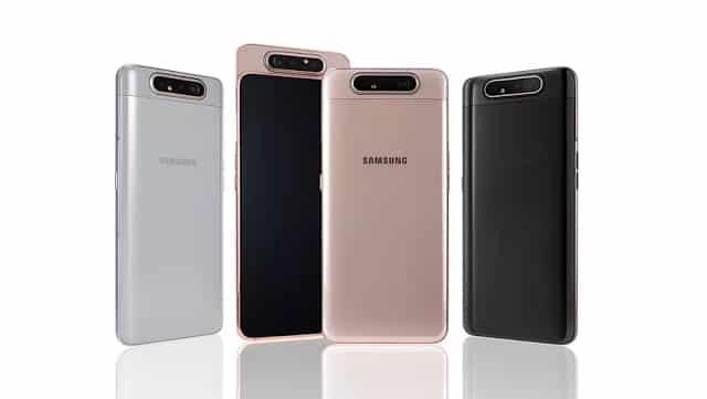 Spesifikasi dan Harga Samsung Galaxy A80 Dengan Kamera yang Dapat Diputar