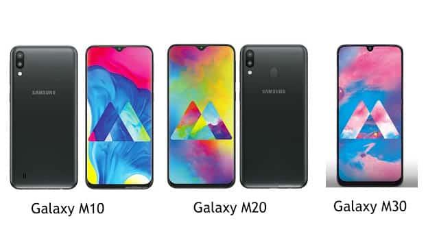 Perbedaan Spesifikasi Samsung Galaxy M10, M20 dan M30 Secara Lengkap!