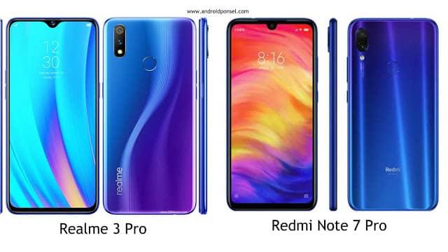 Perbandingan Spesifikasi Realme 3 Pro Dan Redmi Note 7 Pro Lengkap