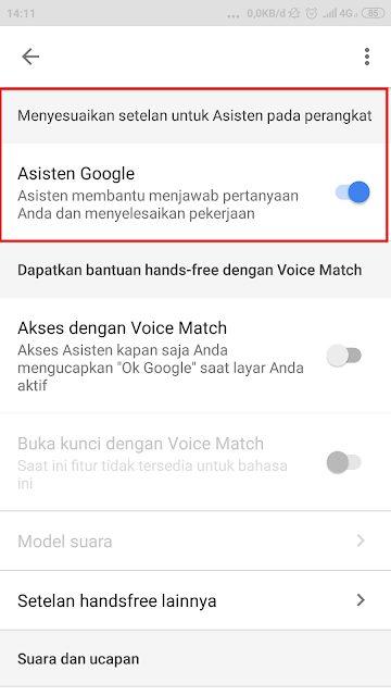 Cara Mematikan Google Assistant Diberbagai Jenis Smartphone