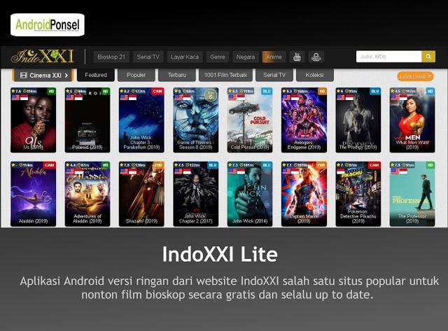 Aplikasi Nonton Film di Android Terbaik (Tanpa Download)