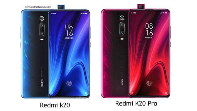 Perbandingan Spesifikasi Redmi K20 dan Redmi K20 Pro
