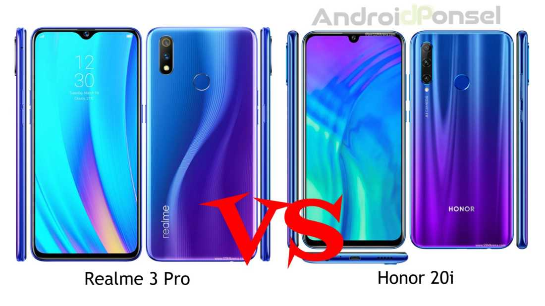 Realme 3 Pro vs Honor 20i