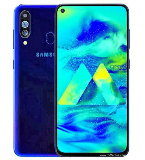 Samsung Galaxy M40 dengan Infinity O dan Snapdragon 675