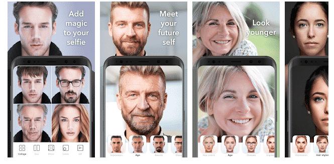 Aplikasi Edit Foto Wajah Menjadi Tua atau Muda