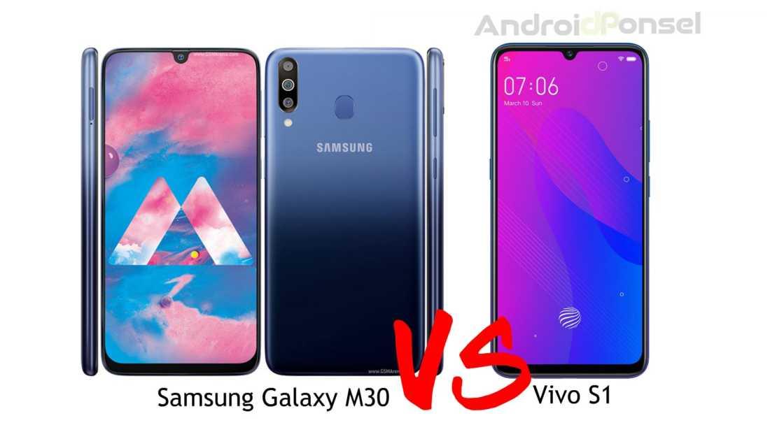 Perbandingan Samsung Galaxy M30 dan Vivo S1, HP Harga 3 Jutaan!