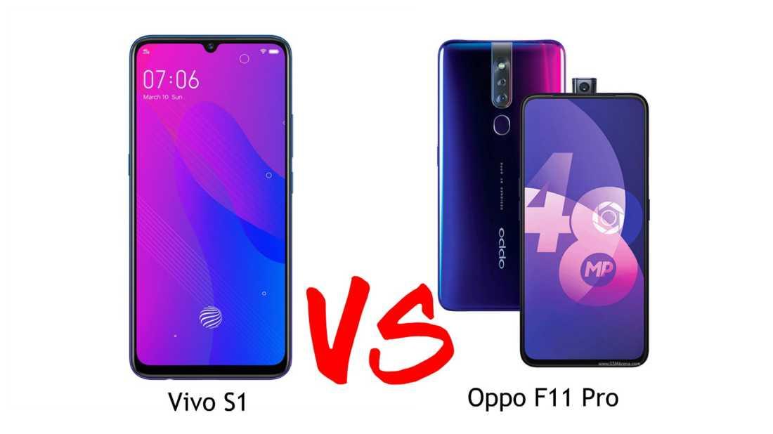 Vivo S1 vs Oppo F11 Pro