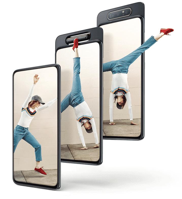 Fitur Samsung Galaxy A80