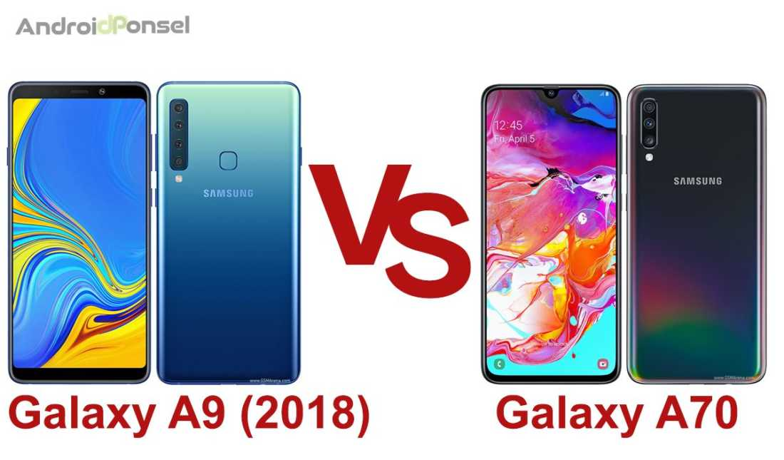 perbandingan galaxy a9 vs galaxy a70