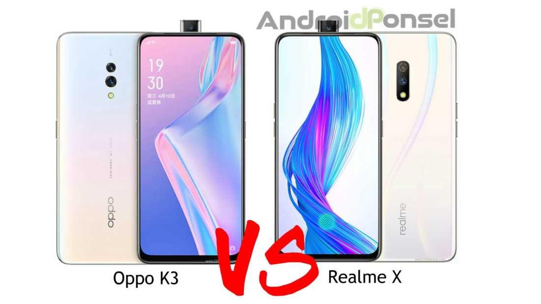 Oppo K3 vs Realme X