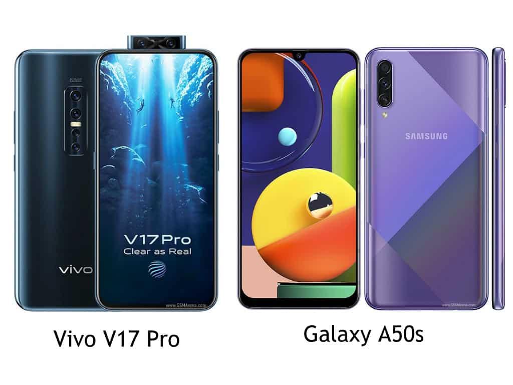 Mana yang terbaik antara Vivo V17 Pro vs Galaxy A50s
