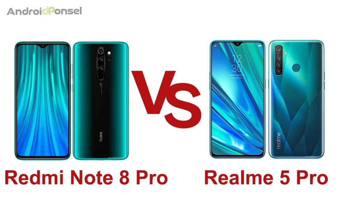 Bandingkan Ponsel Pro antara Redmi Note 8 Pro dan Realme 5 Pro, Mana Lebih Mantap?