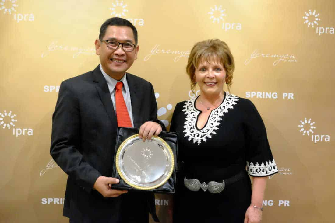 Telkom Raih Golden World Award IPRA