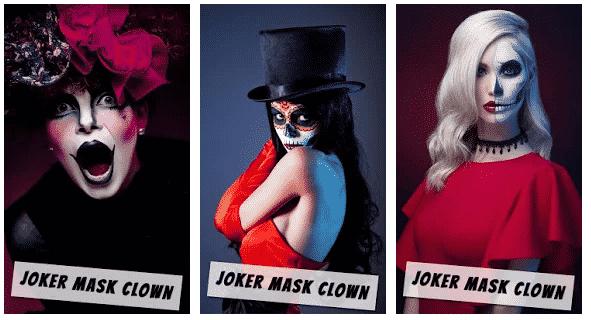Joker Mask Clone