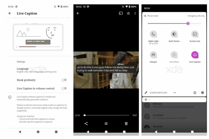 Live Caption adalah Salah Satu Fitur Keren di Android 10