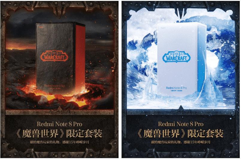 Redmi Hadirkan Note 8 Pro Edisi World of Warcraft dengan Dua Varian Warna