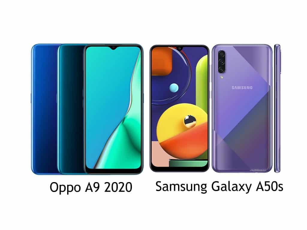 Oppo A9 2020 vs Galaxy A50s