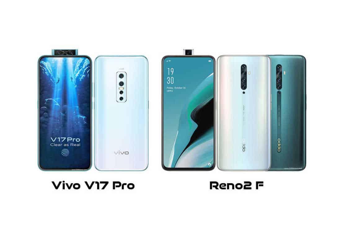 Vivo V17 Pro vs Oppo Reno2 F