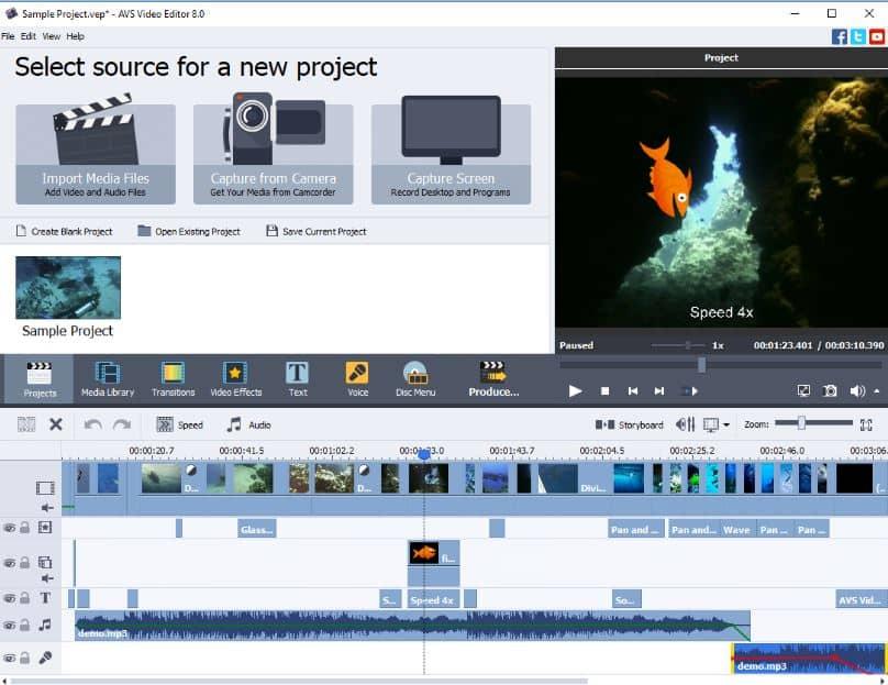 AVS Video Editor Aplikasi Edit Video