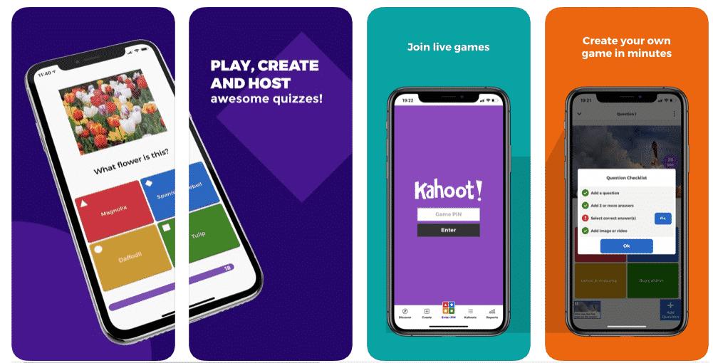 Aplikasi Kahoot App