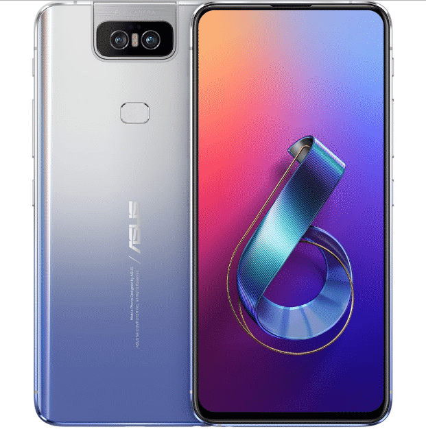 Asus Zenfone 6 Warna Twilight Silver