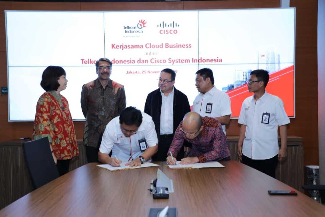 Kerja Sama Telkom dengan Cisco