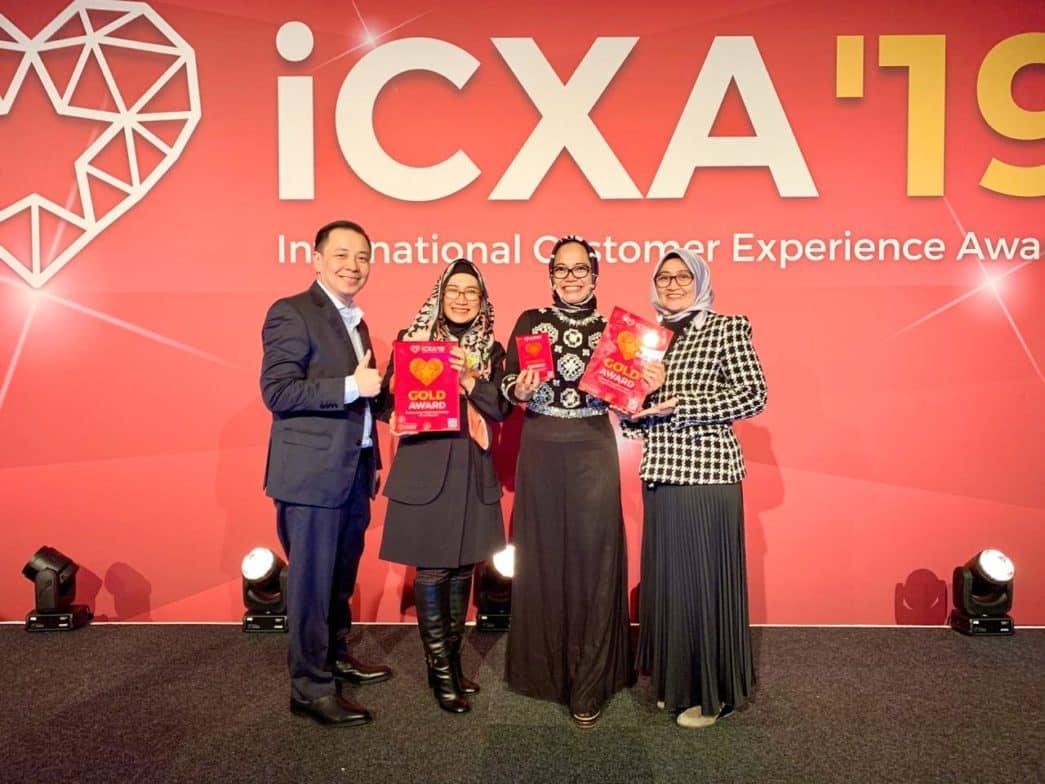 TelkomGroup Menangkan 3 Kategori International Customer Experience (CX) Awards