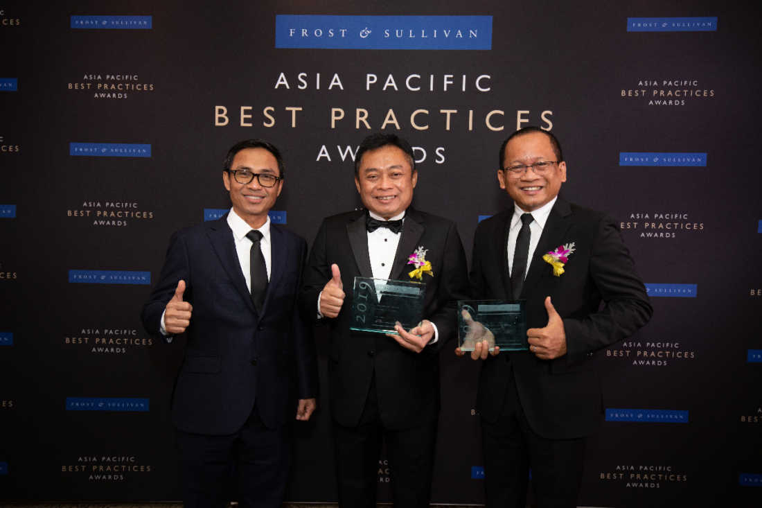 Direktur Utama Telkom Indonesia Ririek Adriansyah
