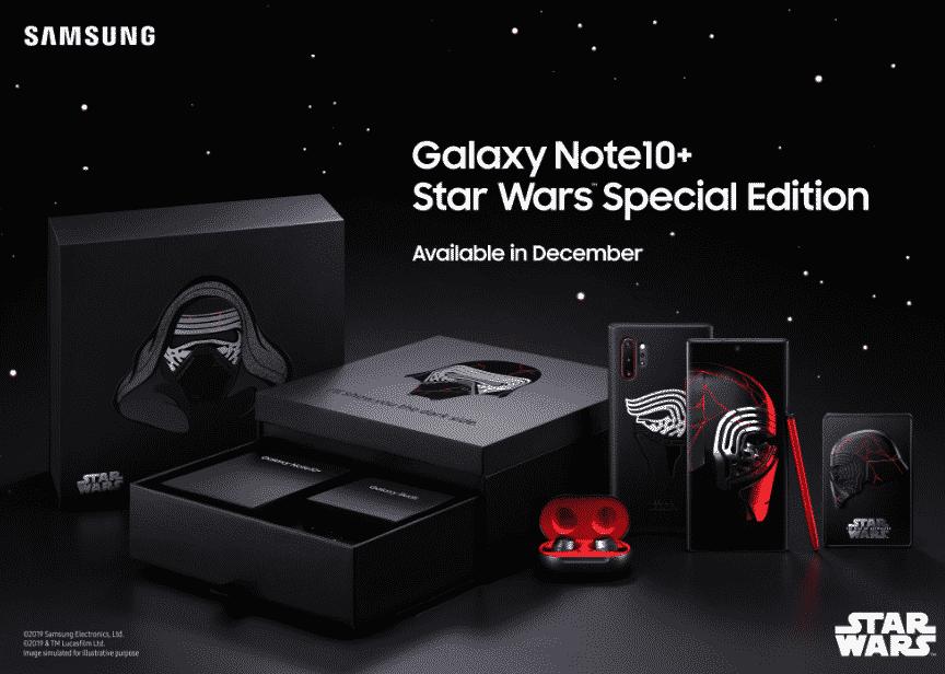Samsung Galaxy Note10 + Edisi Star WArs