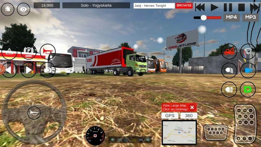 game mobil truk simulator