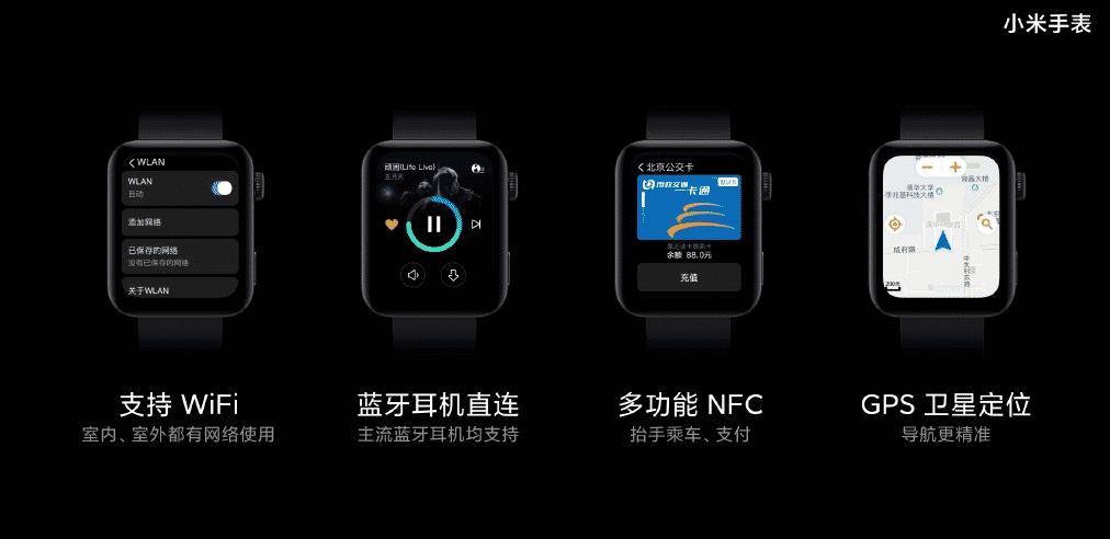 Xiaomi Mi Watch Jam tangan mirip dengan Apple Watch