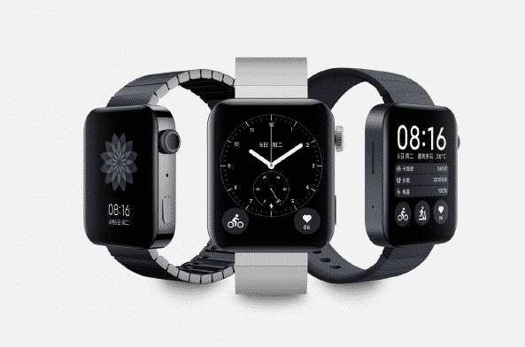 Desain tampilan dari Jam tangan pintar Xiaomi Mi Watch
