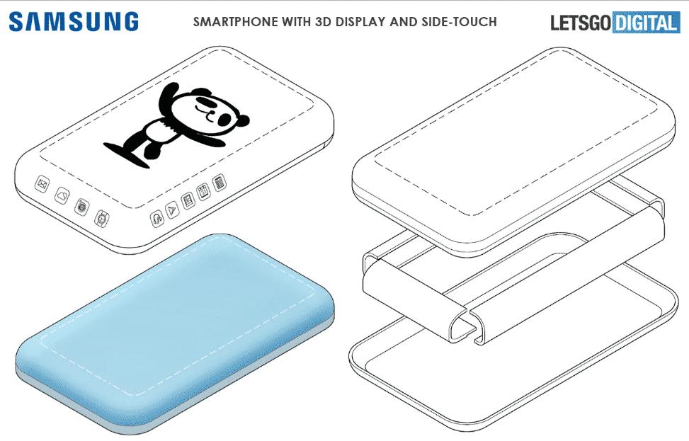 Samsung Patenkan Display Layar 3D Super Bundar dengan Kontrol Sentuhan