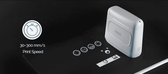 Selpic S1 Plus Printer Portabel Hanya Segenggam Tangan