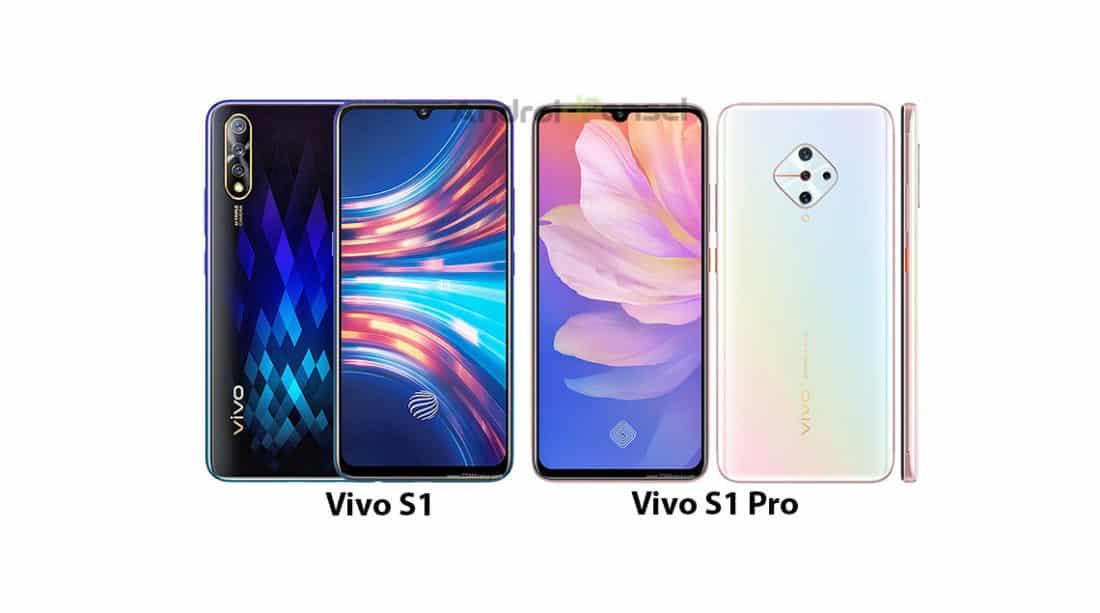 Vivo S1 vs S1 Pro