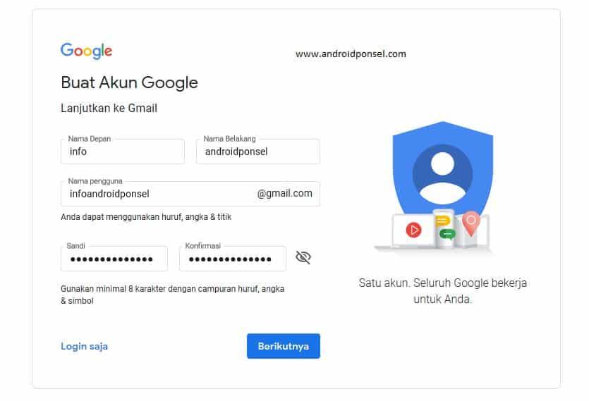 2 cara membuat email di hp android