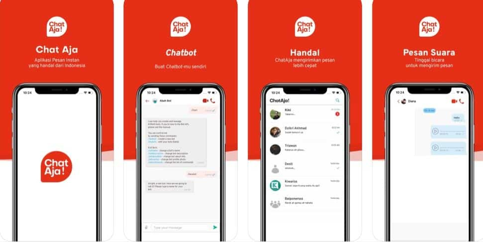 Aplikasi ChatAja Karya Anak Bangsa