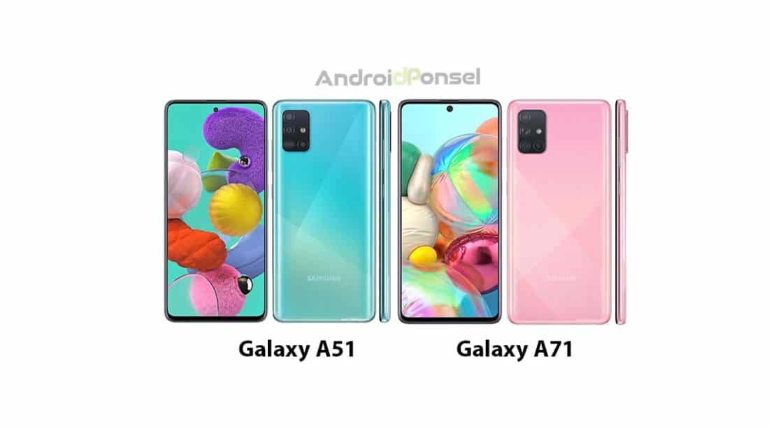 Galaxy A51 vs Galaxy A71 cover