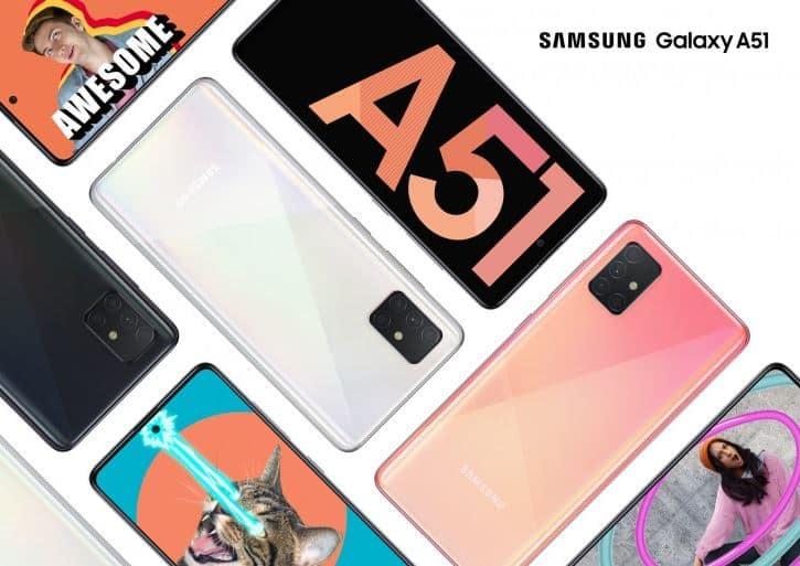 Harga Galaxy A51