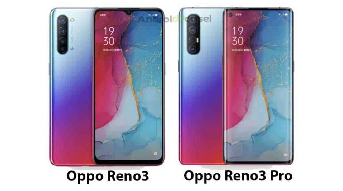 Perbandingan Oppo Reno3 vs Reno3 Pro