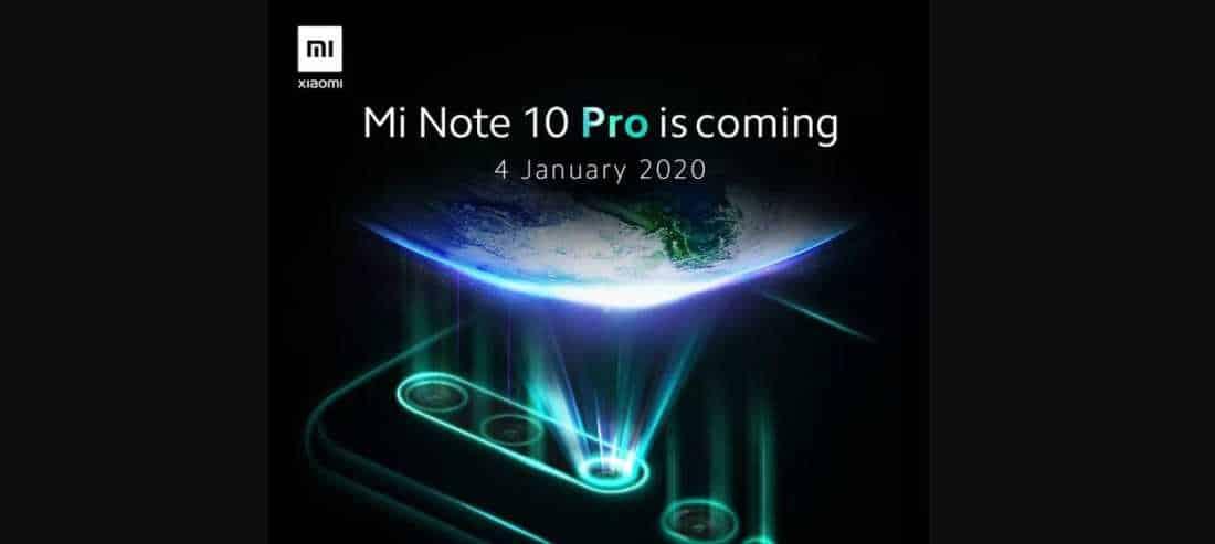 Xiaomi Mi Note 10 Akan datang di Indonesia